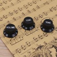 3Pcs Knop Potensiometer Speaker Amplifier Kenop Potentiometer Gitar