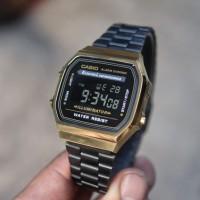 Jam Tangan Casio A168WE Unisex Illuminator Kualitas Terbaik