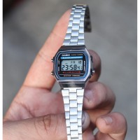 Jam Tangan Wanita Casio A168W Illuminator Kualitas Terbaik
