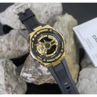 Jam Tangan Pria G-Shock GST 400G (5553) Gold Accent Kualitas Terbaik