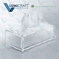 STREAM Kotak Tisu Akrilik / Acrylic Tissue Box Panjang