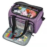 Tas perlengkapan rajut/ Yarn organizer bag/ storage bag 227