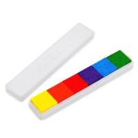 Bantalan Tinta 6 Warna Minyak DIY untuk Stempel Karet Kayu