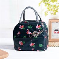 Tas Bekal Flamingo / Cooler Bag / Lunch Bag / Tas Penyimpanan ASI