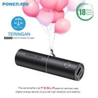 POWERADD EnergyCell 5000mAh Slim Power Bank with 2.4A -Black Powerbank