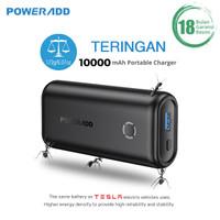 POWERADD Powerbank EnergyCell 10000mAh Portable Power Bank - Hitam