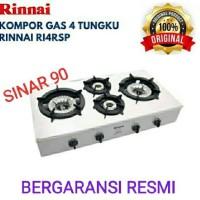 Kompor RINNAI RI-4RSP Kompor Gas 4 Tungku Api Turbo