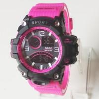 Jam Tangan Pria Wanita Q&Q Transparan (G-Shock Baby-G Skmei Rolex)