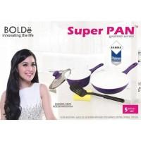 SH1053 5pcs Super PAN Keramik purple Set 5 Original BOLDe Panci