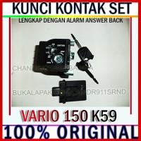 KUNCI KONTAK ASSY KEY SET VARIO 150 ESP LED NEW K59