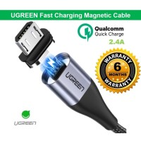 UGREEN Kabel Charger & kabel data micro usb Magnetic Fast charging
