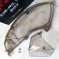 Tutup Filter Udara Hawa Yamaha NMAX Transparan Smoke Riben