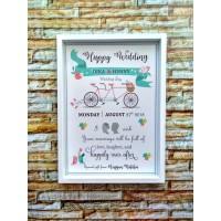 Home Decor Frame Box - Kado Pernikahan - Wedding Gift