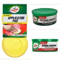 Turtle Wax BUNDLE Rubbing - Polishing Compound & Applicator Pad