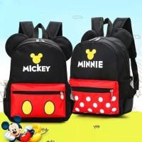 Tas Import / Tas Fashion /Tas Karakter/Tas Ransel Anak Mickey & Minnie