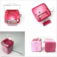 ORI Brush Cleaner Make Up Cuci Sponge Brush Mesin Cuci Mini Elektrik