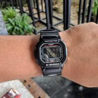 Jam Tangan Pria Casio G-Shock DW5600st Raven langka mulus like new
