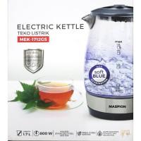 Maspion Teko Listrik 1,7 Liter MEK-1712GS | Electric Kettle
