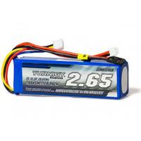 Baterai 2650mAh 3S 1C Lipo Tx Transmitter Pack (Futaba/JR)