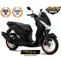 Kredit Motor YAMAHA Lexi S ABS Velg Gold All New 2019 - Jabodetabek