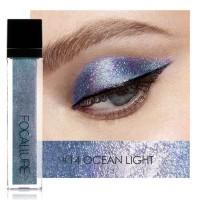 FOCALLURE Glitter Liquid Eyeshadow Sparkling Ocean Light FCR093
