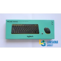 Logitech Wireless Keyboard And Mouse Combo MK240 Nano