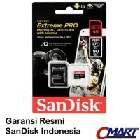 SanDisk Extreme PRO microSD 400GB 170MB micro SD SDXC SDSQXCZ-400GGN6M
