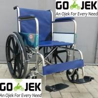 Gojek Only Kursi Roda Velg Racing Avico Tahan Beban Hingga 100KG