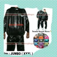 Jas Hujan / Sauna Suit /Jaket Olahraga JUMBO (XXXL) jas hujan gojek