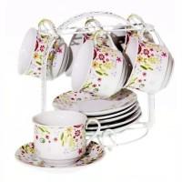 Tea Set Vicenza / Paket Cangkir Mewah BA671 / Gelas / Mug / Alat Minum