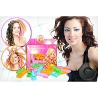 Instant Curler Pengikal Rambut Instant Magic Leverage Hair Curler