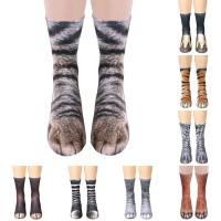 Funny 3D Animal Print Foot Hosiery Socks Halloween Socks Cosplay Socks