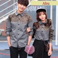 couple kemeja Brian batik premium katun jepang baju pasangan cp beb vt
