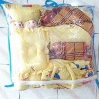paket lengkap matras bayi lengkap bantal guling