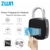Gembok Sidik Jari Ampuh Terhindar Maling Fingerprint Lock Smart Keyles
