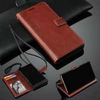 Xiaomi Redmi Note Bambu Wallet Leather Case Premium
