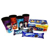 Oreo Biskuit Sandwich Tumbler Mug Lunch Box - Netto 2 x 137gr