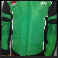 Jaket Gojek motor waterprof .hijau,M - Hijau