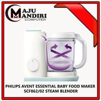 PHILIPS AVENT ESSENTIAL BABY FOOD MAKER SCF862/02 STEAM BLENDER