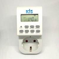Timer digital pengatur waktu mesin on off otomatis stop kontak