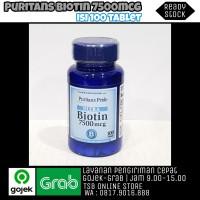 Puritan Pride Biotin 7500mcg - 100 Tablet