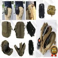 Tas Pinggang Pria / Tas Outdoor Pria / Tas Hp / Tactical Waist Bag