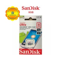 Memory Card Sandisk 8GB Class 10 Bergaransi-MicroSD Sandisk 8GB