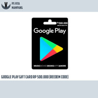 google card play gift card IDR Rp500.000 - fisik