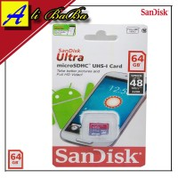 Memory Card Sandisk Ultra Speed 64GB Speed Up To 48Mbps MMC Card