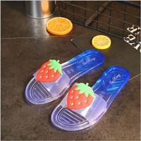 [H2Wshop][OngKir Murah] Sandal lucu wanita model buah-buah anti slip