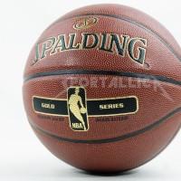 Bola Basket Spalding NBA Gold Series Indoor / Outdoor