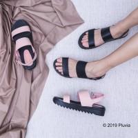 Pluvia - MEDYAN Sandal Tali Platform Wanita