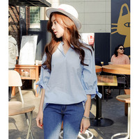 kemeja sale murah grosir baju kerja wanita fashion cotton pakaian new