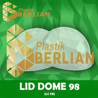 Dome Lid 9.8 / Tutup Gelas Plastik SIP 16 Oz PET Bulat/Kubah @ 50 Pcs
